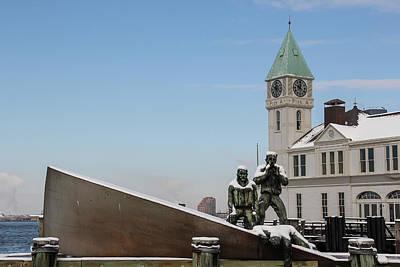Merchant Mariners Photograph - Merchant Mariners' Memorial by Amy Sorvillo