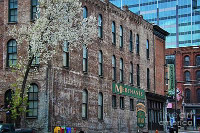 Nashville Photograph - Merchants Building by Pamela Williams