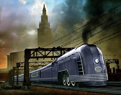 Photograph - Mercury Train by Steven Agius