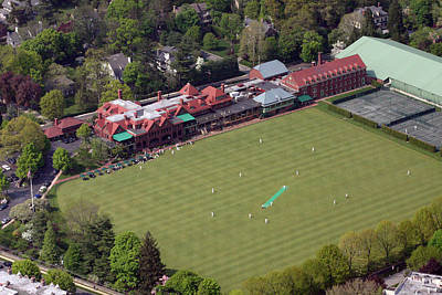 Cricket Photograph - Merion Cricket Club Picf by Duncan Pearson
