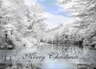 Photograph - Merry Christmas - Lykens Reservoir by Lori Deiter