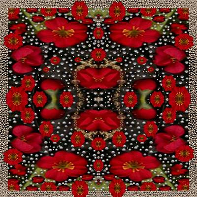 Merry Florals Print by Pepita Selles