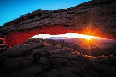 November Photograph - Mesa Arch by Edgars Erglis