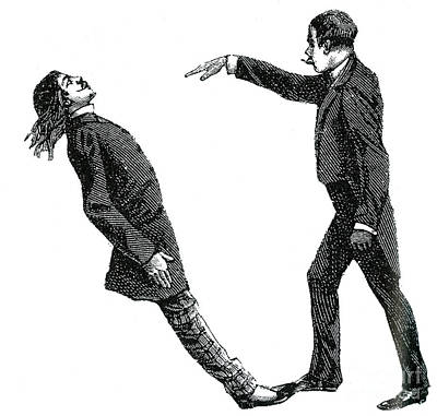 Mesmerism, 19th Century Print by Science Source