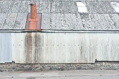 Metal Building Print by Tom Gowanlock