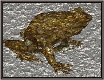 Metal Frog 1 Original by Pemaro