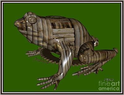 Metal Frog 2mf Original by Pemaro