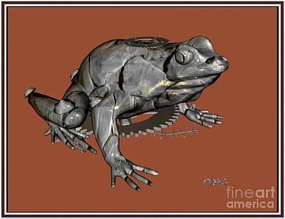 Metal Frog  4mf Original by Pemaro