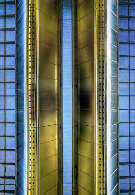 Underneath Photograph - Metallic by Wim Lanclus