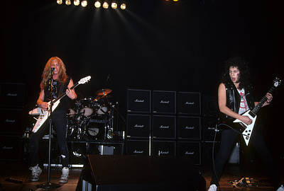 Metallica Photograph - Metallica At The Tower Theatre by Rich Fuscia