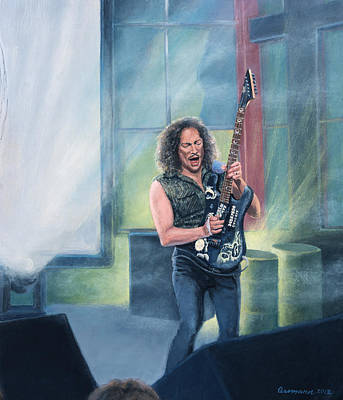 Metallica Painting - Metallica Panorama- Right Panel by Steven Assmann