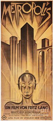 Metropolis Poster, 1926 Print by Granger