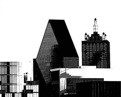Skyscraper Mixed Media - Metropolis by Slade Roberts