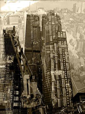Twin Towers Photograph - Metropolis V by David Studwell