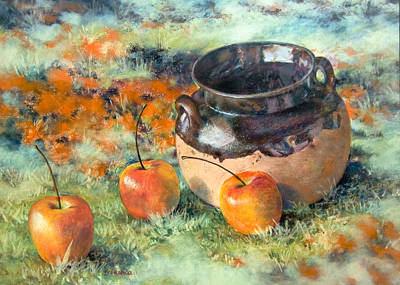 Mexican Apples Print by DEVARAJ DanielFranco