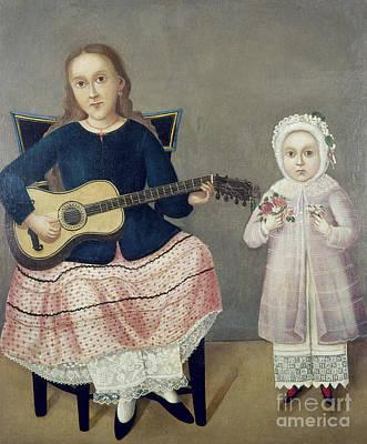Folk Art Photograph - Mexico: Children, C1850 by Granger