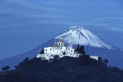 Mexico, Cholula, Catholic Church Print by Keenpress