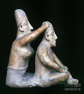 Mexico: Totonac Figures Print by Granger