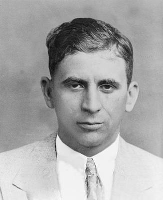 Photograph - Meyer Lansky 1902-1983, In 1949 by Everett