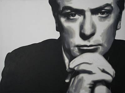Michael Caine 2013 Print by Luis Ludzska