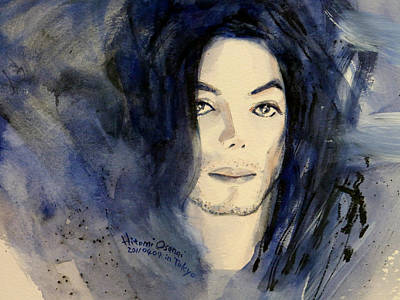 Michael Jackson - This Life Don't Last For Ever Print by Hitomi Osanai