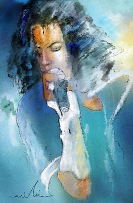 Michael Jackson Mixed Media - Michael Jackson 04 by Miki De Goodaboom