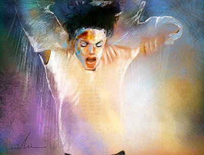 Michael Jackson Mixed Media - Michael Jackson 09 by Miki De Goodaboom
