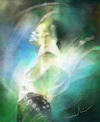 Music Digital Art - Michael Jackson 15 by Miki De Goodaboom