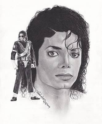 Michael Jackson Print by Dipesh Ambekar