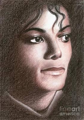 Michael Jackson #fourteen Print by Eliza Lo