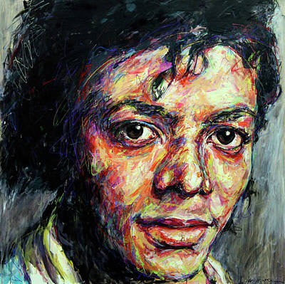 Michael Jackson Print by Mountain Dreams