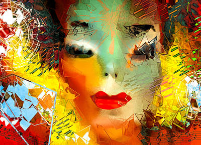 Music Digital Art - Michael Jackson - Shattered Pop by Jeff Burgess