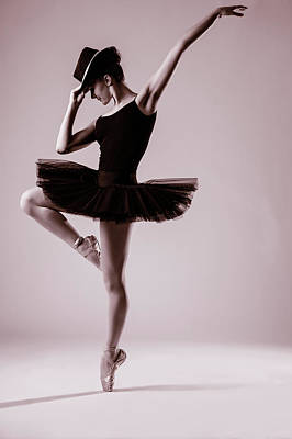 Dance Photograph - Michael On Pointe 2 by Monte Arnold