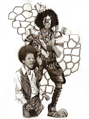 Wiz Drawing - Michael by Terri Meredith