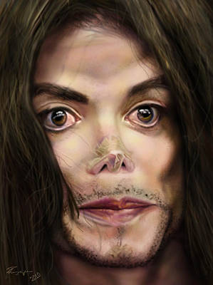 Mj Painting - Michaels Magnum Opus 1 by Reggie Duffie