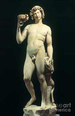 Artifacts Painting - Michelangelo: Bacchus by Granger