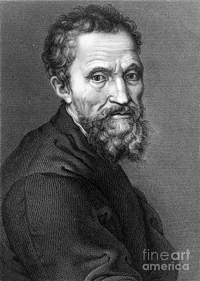 Michelangelo, Italian Renaissance Man Print by Science Source