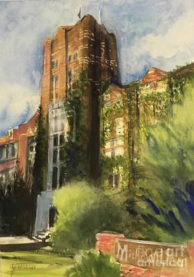 University Of Michigan Painting - Michigan Union by Yoshiko Mishina