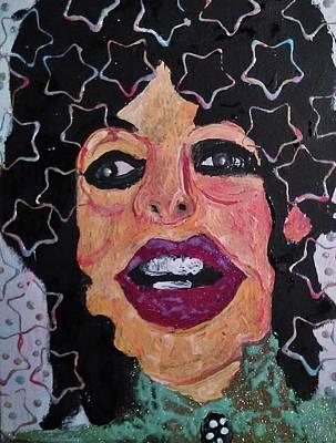Mickjagger Painting - Mick Jagger - Print by Gregory McLaughlin