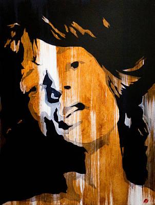 Mick Jagger Painting - Mick Jagger Satisfaction by Brad Jensen