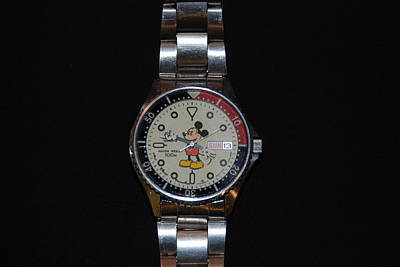 Mickey Mouse Watch Original by Rob Hans
