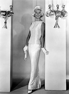 1960s Fashion Photograph - Midnight Lace, Doris Day, 1960, Evening by Everett