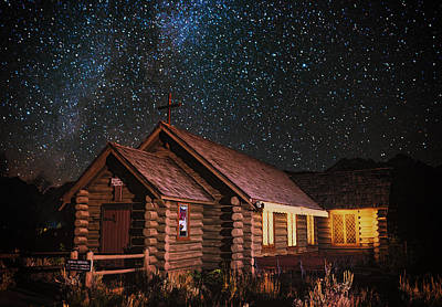 Night Workshop Photograph - Midnight Mass by Darren White