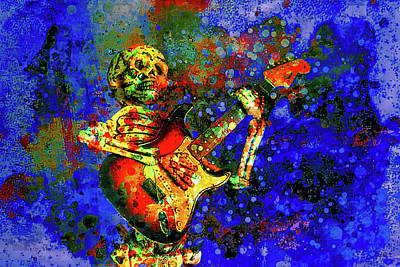 Rock N Roll Digital Art - Midnight Serenade by Jeff Gettis