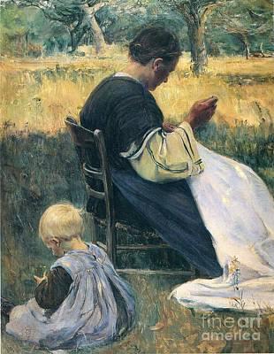 Midsummer Print by Nourse Elizabeth