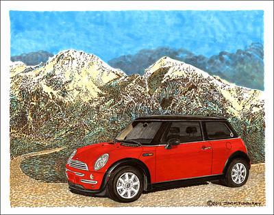 Mighty Mini Cooper S Print by Jack Pumphrey