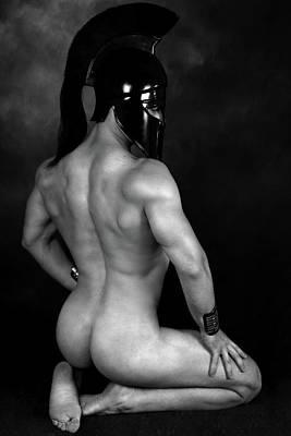 Nude Digital Art - Mike 2 by Mark Ashkenazi