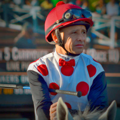 Zenyatta Photograph - Mike Smith- Horse Jockey by See My  Photos