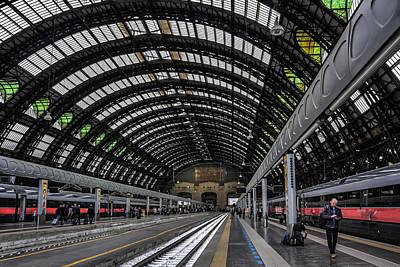 Vanish Photograph - Milano Centrale by Carol Japp