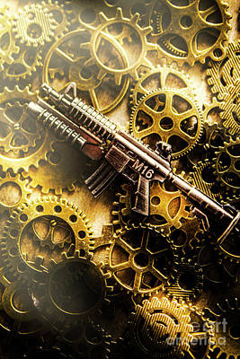 Military Artwork Photograph - Military Mechanics by Jorgo Photography - Wall Art Gallery